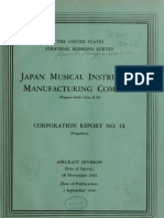 USSBS Report 24, Japanese Musical Instrument Manufacturing Company