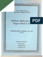 USSBS Report 29, Nippon Airplane Company