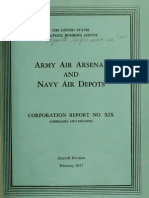 USSBS Report 34, Army Air Arsenal and Navey Air Depots