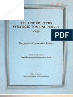 USSBS Report 37, The Japanese Construction Industry