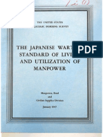 USSBS Report 42, The Japanese Wartime Standard of Living