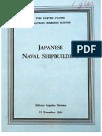 USSBS Report 46, Japanese Naval Shipbuilding