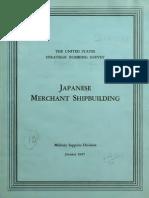 USSBS Report 48, Japanese Merchant Shipbuilding