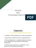 CV Tecnicas Situaciones Conflictivas