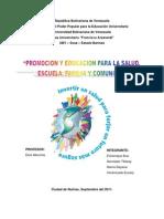 Fundamentos Pedagogicos de La Promocion de La Educacion Para La Salud