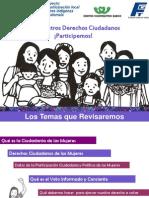 Participacion Ciudadana y politica de las mujeres