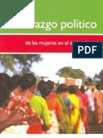 Liderazgo de las mujeres - politicas en el ambito local 2006