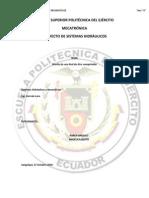 Red de Aire Comprimido Informe Tecnico