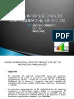 Norma Internacional de ad No 18 (Nic