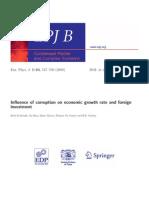 Corruption Growth Economic