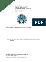 Import an CIA de La Investigacion Imprimir