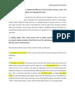 International Finance Tutorial 3 Answer-Hafeez