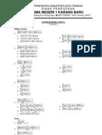 Lembar Kerja SIswa Matematika Kelas XII  IPA