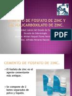 Cemento de Fosfato de Zinc