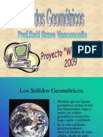 Cuerpos geomètricoa (POWERPOINT)
