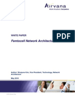 Airvana Femtocell Network Architecture