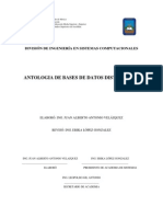 Antologia de Bases de Datos Distribuidos