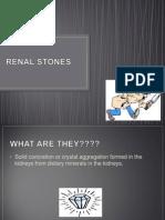 Renal Stones