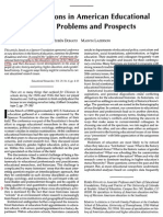 New Directions in American Educational History - Problems & Prospects Annotated)