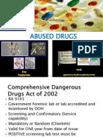 Drug Abuse Lecrure