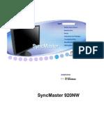 Moniteur LCD Samsung Manuel 2