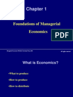 Power Points Managerial Economics