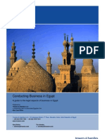 Guide to Doing Business in Egypt