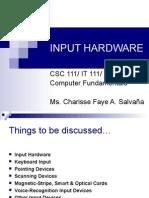 INPUT HARDWARE [final]