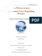 The wisdom behind islamic laws regarding women