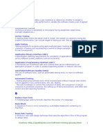 Software Testing Glossary