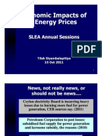 SLEA_Session1_Impact of Energy Prices_Dr Tilak Siyambalapitiya