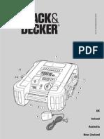 Manual Jump Starter BDJS450