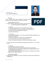 `Resume of Abdul Wahed 01711081030