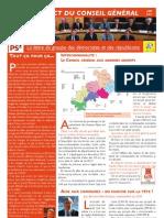 Lettre des élus - Juin 2011
