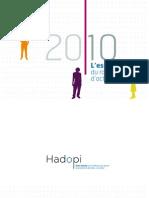 Rapport d Activite Essentiel Hadopi