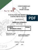 Monografia de Dd.hh Corte Penal Internacional