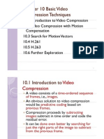 Unit VII MM Chap10 Basic Video Compression Techniques