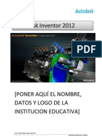 Manual Autodesk Inventor 2012-SESION 1 Y 2