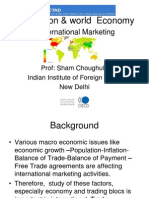 Int Marketing 2 - Institutions & World Economy