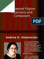 Renowned Filipino