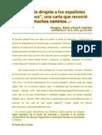 Carta a los Españoles Americanos