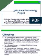 KAT Kerala Agricultural Technology Project Presentation