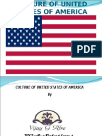 Culture of United States of America
