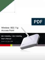 Ew 7206apg Pdg Manual En