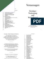 080_Voraussagen - Geistiger Niedergang und Weltenbrand