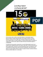 Manifiesto Global Por El 15 Octubre