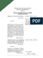 CA-G.R. SP Nos. 70014 and 104604 DECISION