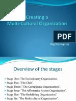 Creating a Multi-Cultural Organization