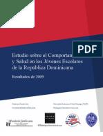 Estudio sobre el Comportamiento y Salud en los Jóvenes Escolares de la República Dominicana