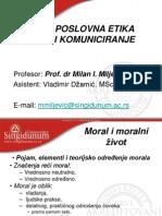 Moral i Moralni Zivot